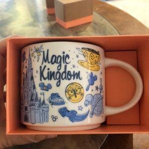 Disney Starbucks magic Kingdom Been There Mug